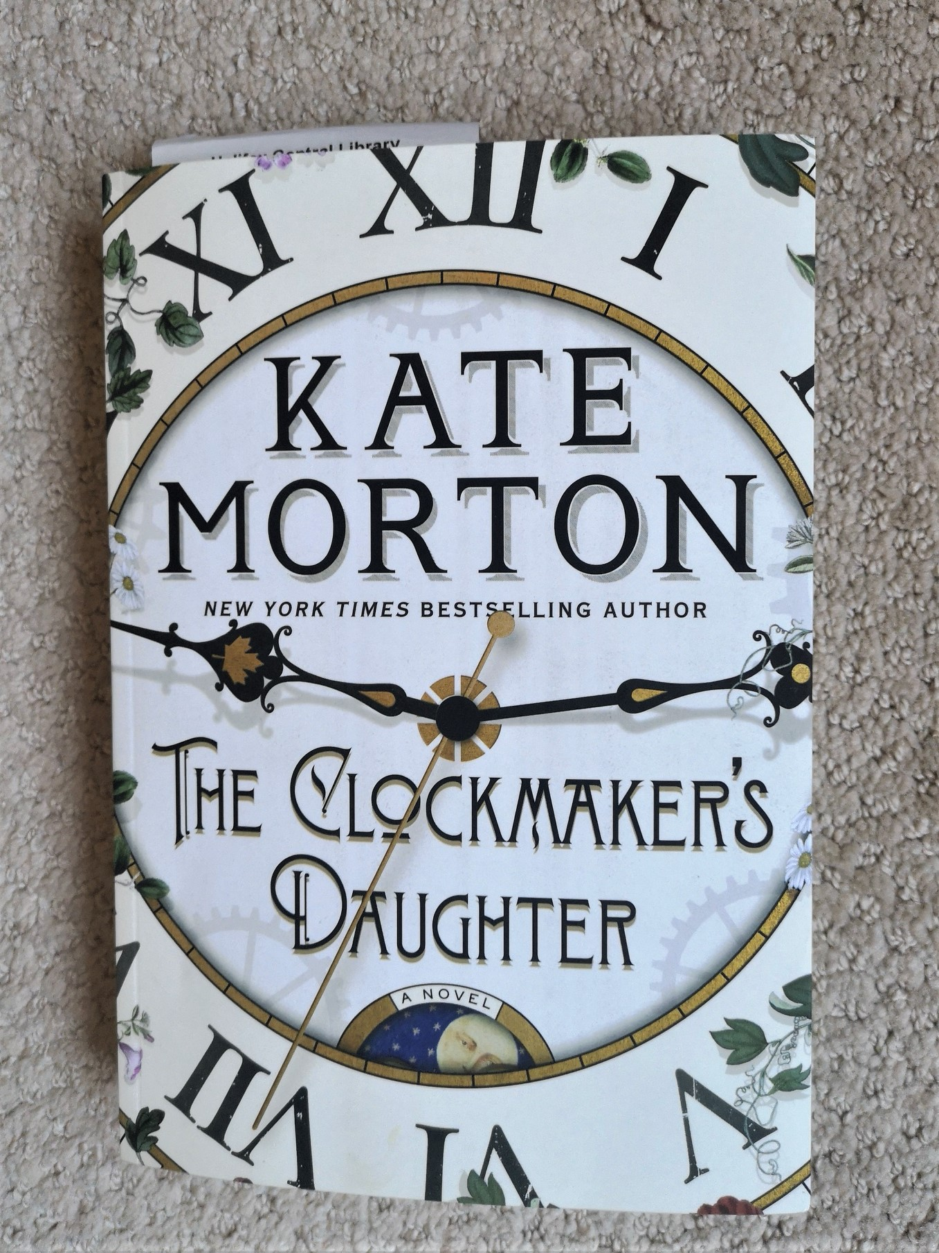 Book club The Clockmaker's Daughter